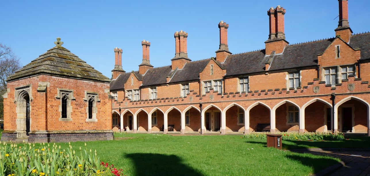 Almshouses in Bedworth